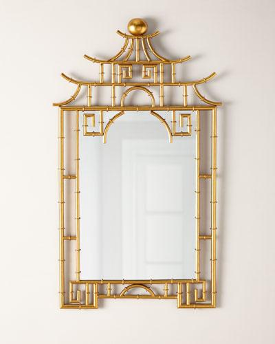 Bamboo Pagoda Mirror