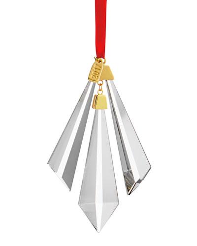 Crystal Annual 2017 Christmas Ornament