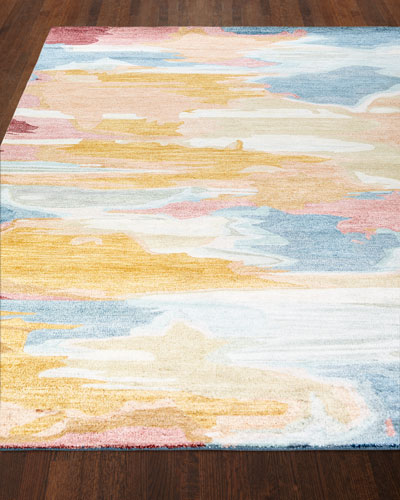 Maloy Hand-Tufted Rug, 7.6' x 9.6'