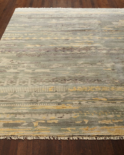 Tecula Hand-Knotted Runner, 2.3' x 8'