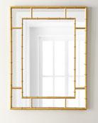 Golden Bamboo Mirror