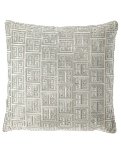 Isabella Collection Lyssa Greek Key European Sham