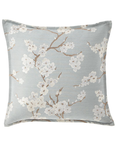 "Isabella Collection Lyssa Flower Pillow, 22""Sq."