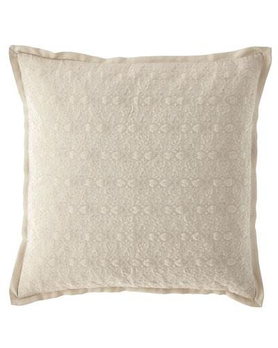 Victoria Orchid Decorative Pillow, 18