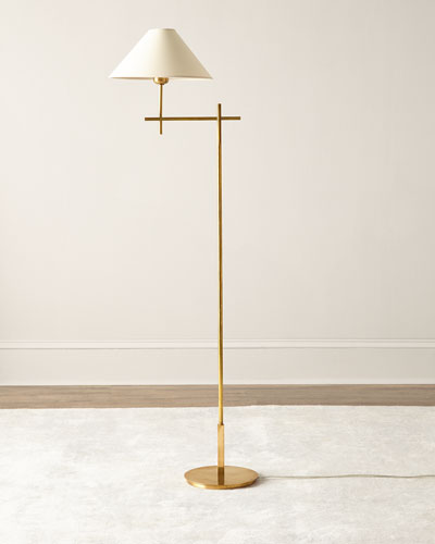 Golden Floor Lamp