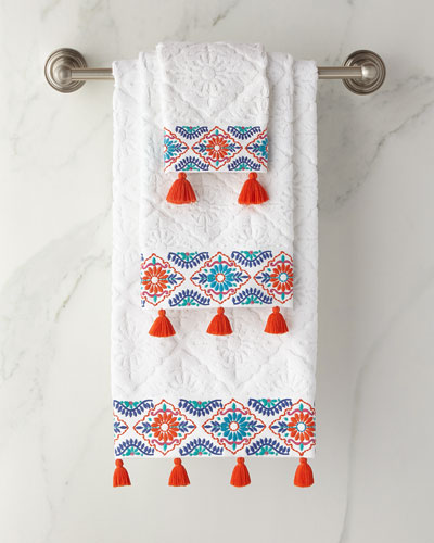 Aloka Coral Bath Towel