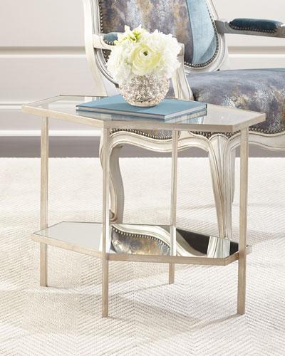 Valeria Hexagon Side Table, 21