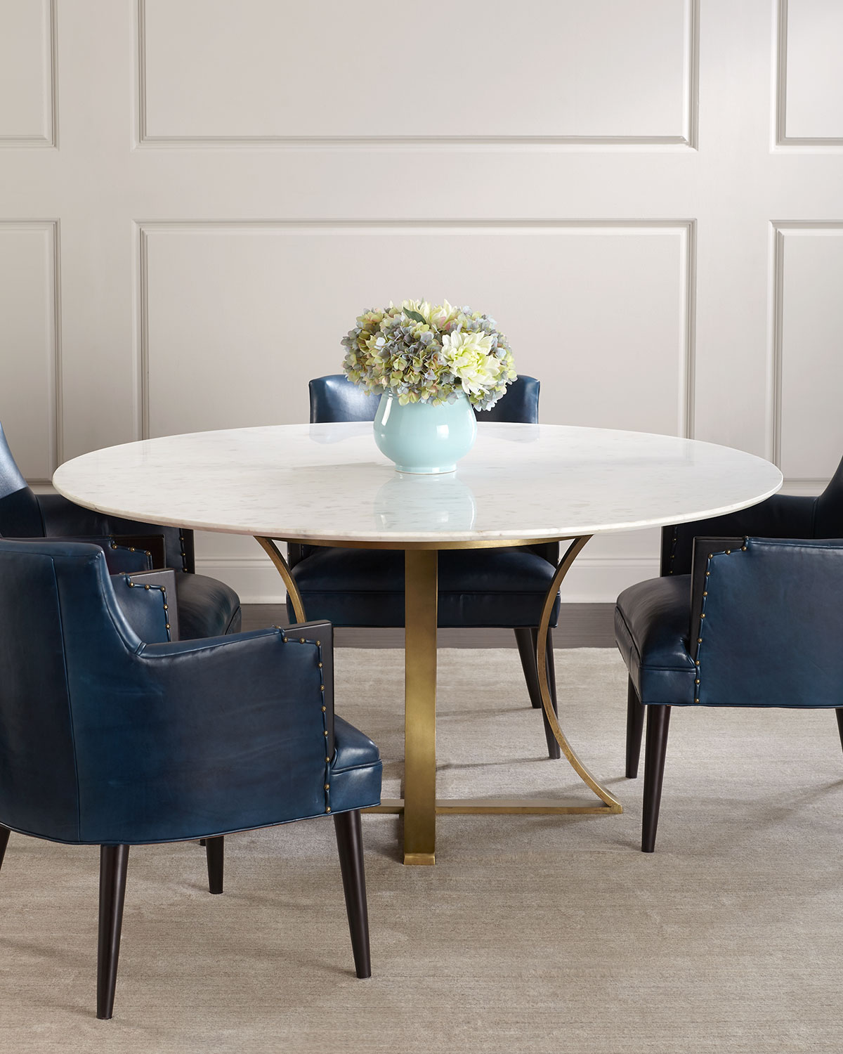 Gayla MarbleTop Dining Table