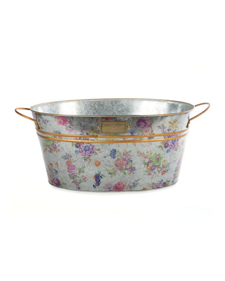 MacKenzie-Childs Flower Market Beverage Bucket