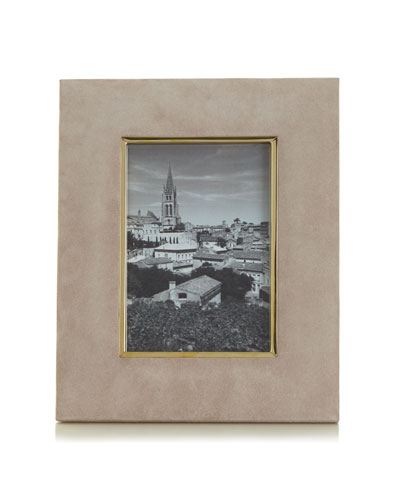Dune Valentina Suede Picture Frame, 4