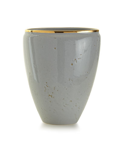 Paros Medium Textured Ceramic Vase