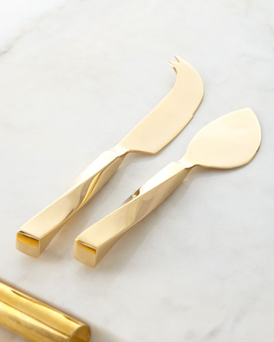 Leon Cheese Knives, Set of 2