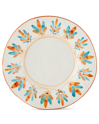 San Miguel Handpainted Dessert Salad Plate
