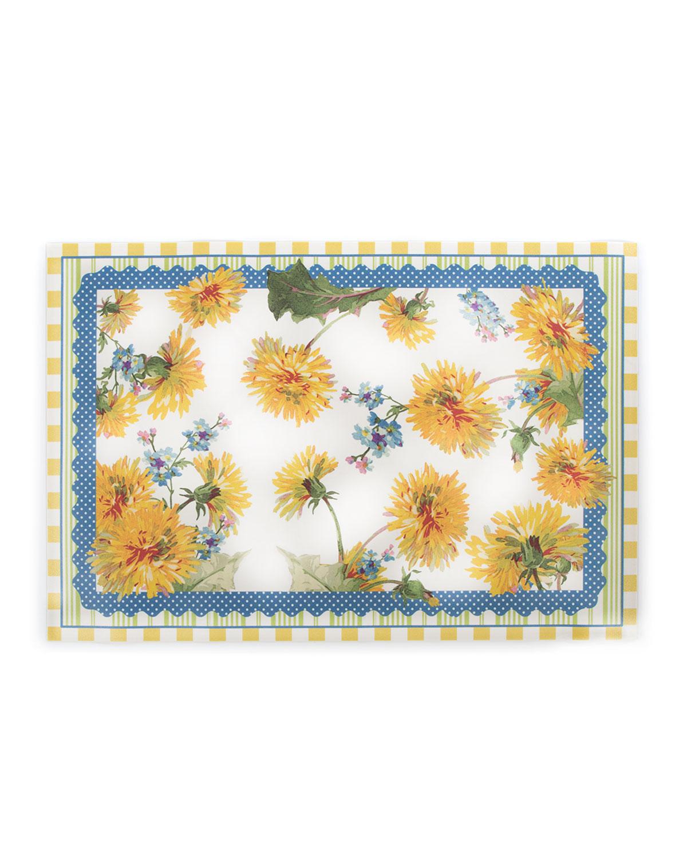 Dandelion Floor Mat, 2' x 3'