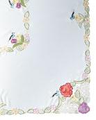 """Springtime 72"""" x 126"""" Tablecloth & 12 Napkins"""