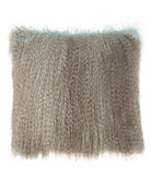 Dian Austin Couture Home Paolo Faux-Feather Ostrich Pillow