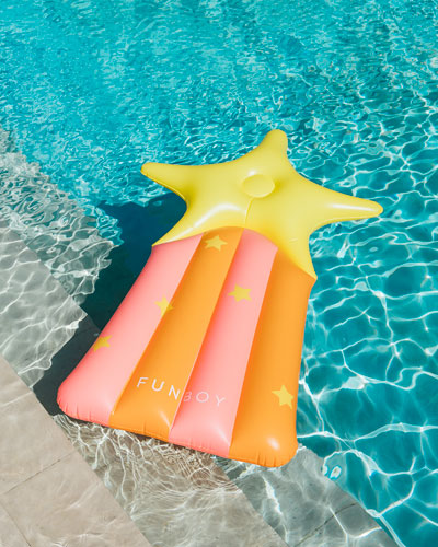 Shooting Star Lounger Pool Float