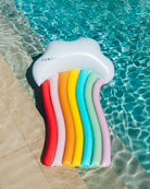 Funboy Rainbow Cloud Longer Pool Float