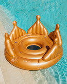 Funboy Royal Crown Island Pool Float