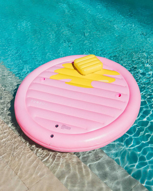 The Pancake Lounger Pool Float