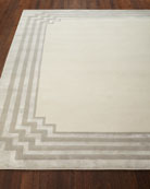 Chattingham Hand-Knotted Rug, 10' x 14'