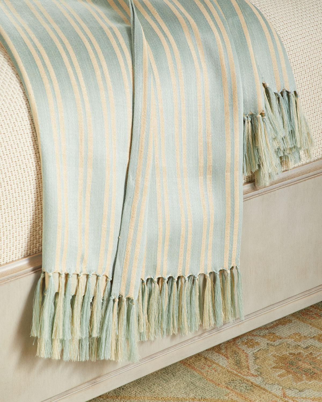 Bretton Stripe Throw Blanket, 54