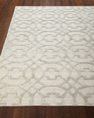 Belmar Circles Hand-Knotted Rug, 9' x 12'
