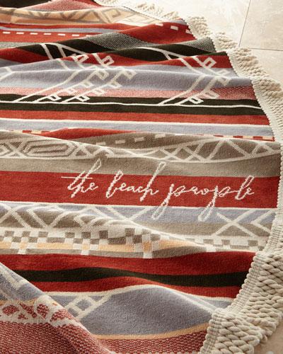Bedouin Roundie Beach Towel