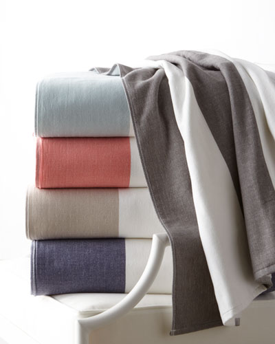 Block Stripe Beach Towel