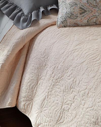 C & F Enterprises Micaela Matelasse Twin Quilt Set