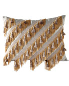Glitz Fancy Fringe Pillow