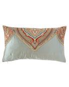 Kristi Pieced Oblong Pillow