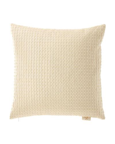 Isadora Beaded Silk Pillow