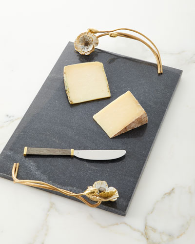 ea09835032e0d Quick Look. Michael Aram · Anemone Large Cheese Board with Knife