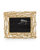 Twig Picture Frame, Gold