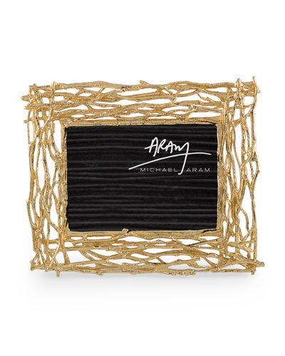 Twig Frame, Gold