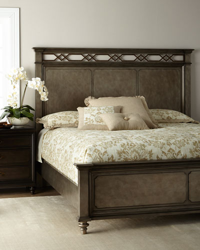 Haven Metal Accent Queen Bed