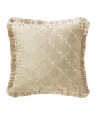 "Annalise Square Decorative Pillow, 18""Sq."
