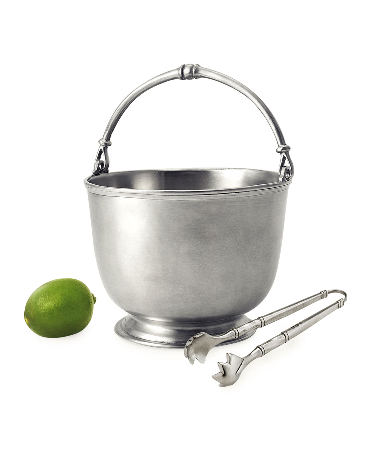 Match BAR PITCHER WITH TONGS