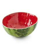 "Watermelon Salad Bowl, 11"" Dia."