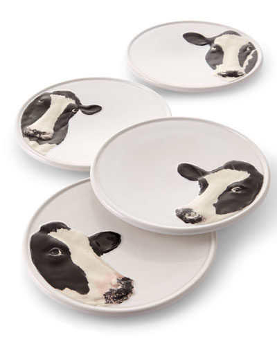 Meadow Cheese Plates, Set of 4