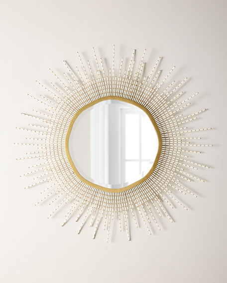 Palecek Sadie Beaded Mirror