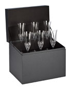 Lismore Essence Flutes, Set of 6