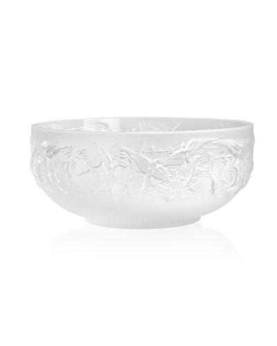 Hirondelles Bowl, Clear