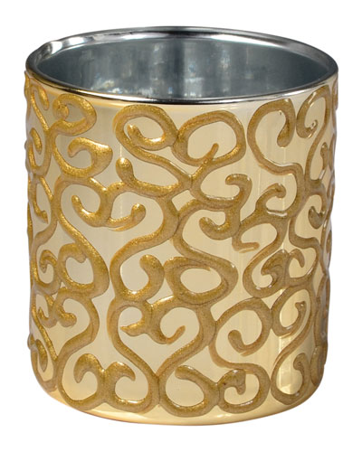 Jamila Glass Tumbler, Golden