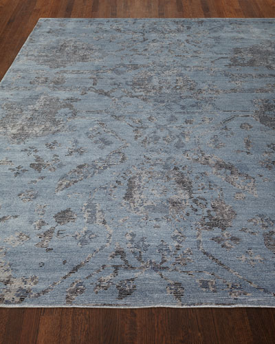 Jubilant Sky Hand-Knotted Rug, 8.6' x 11.6'