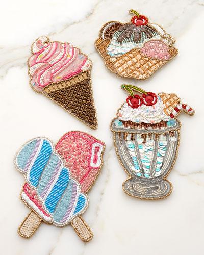 Iscream Coasters, Set of 4