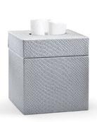 Labrazel Conda Tissue Box Cover, Silver
