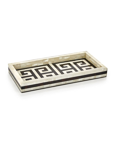 Greek Key Tray