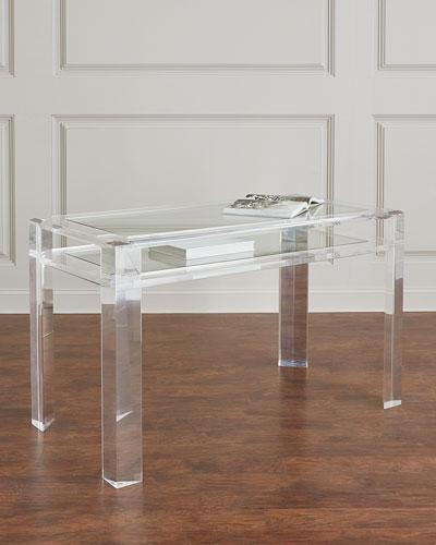 Genial Quick Look. Interlude Home · Landis Acrylic Writing Desk